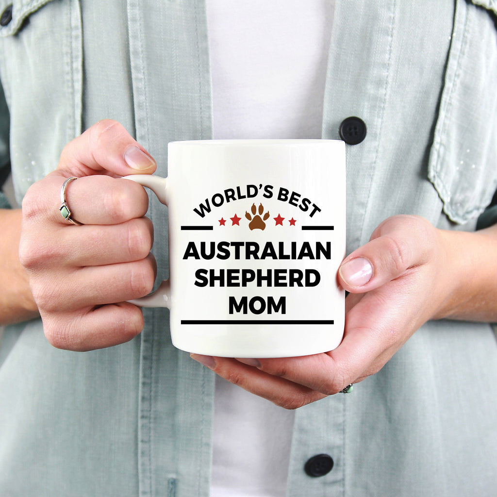 Australian Shepherd Dog Mom Coffee Mug