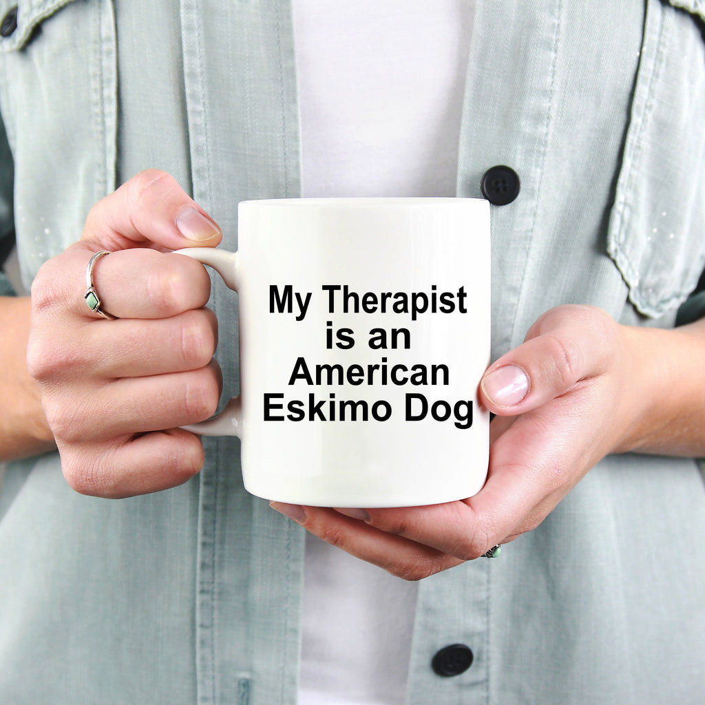 American Eskimo Dog TherapistCoffee Mug