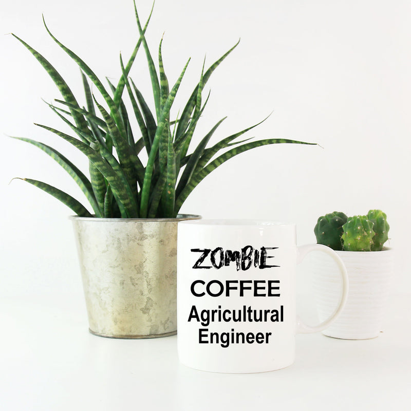 Agricultural Engineer Zombie Coffee Mug