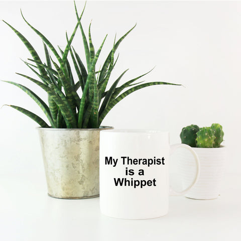 Whippet Dog Therapist Coffee Mug