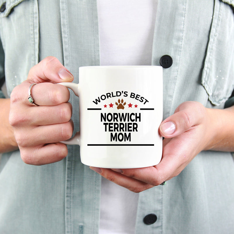 Norwich Terrier Dog Mom Coffee Mug