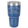 Akita Dog Mom Laser Etched Polar Camel Large 30oz Ringneck Color Tumbler