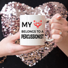Drummer Mug - My Heart Belongs To A Percussionist