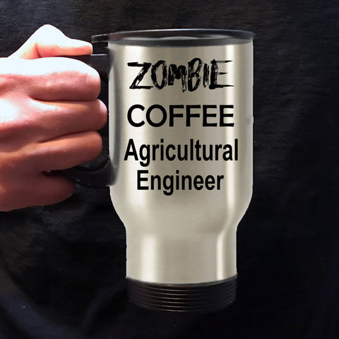 Agricultural Engineer Zombie Coffee Travel Mug