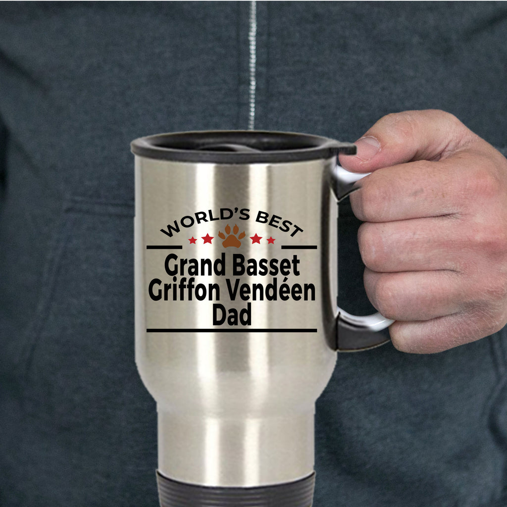Grand Basset Griffon Vendéen Dog Dad Travel Mug