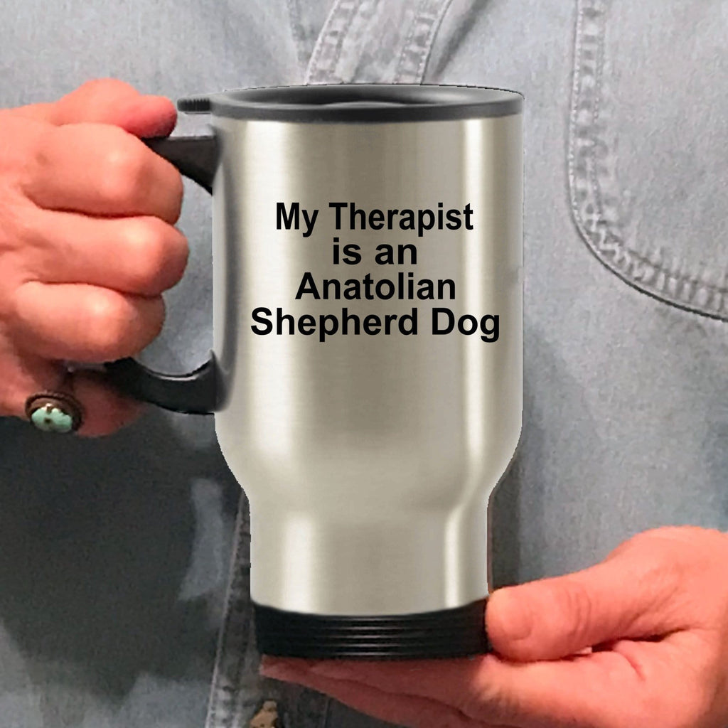 Anatolian Shepherd Dog Therapist Travel Coffee Mug
