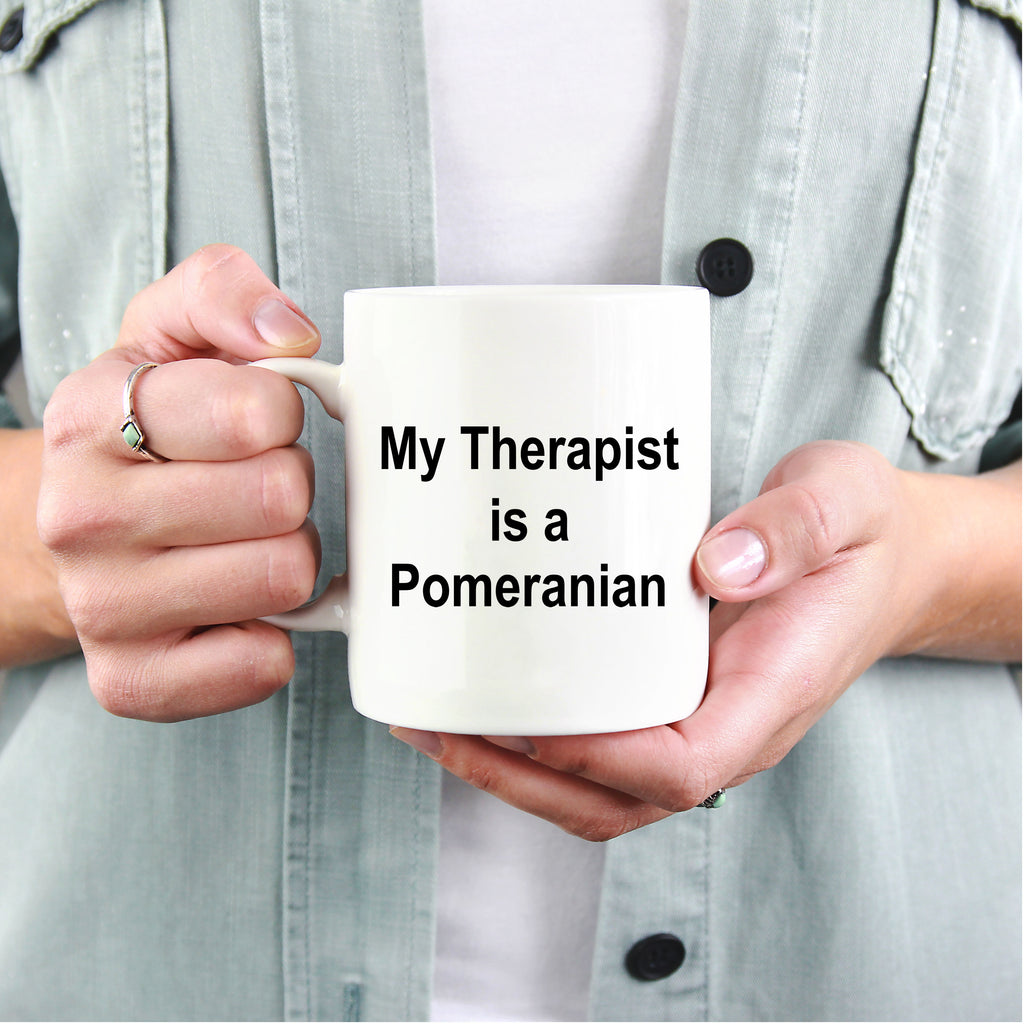 Pomeranian Dog Therapist Coffee Mug