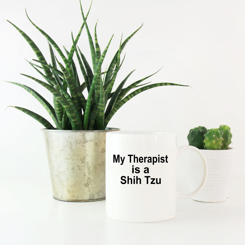 Shih Tzu Dog Therapist Coffee Mug