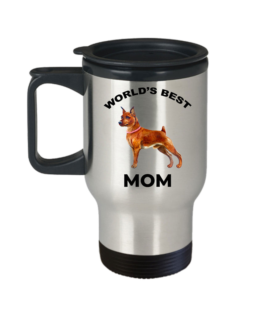 Miniature Pinscher Best Dog Mom Travel Mug