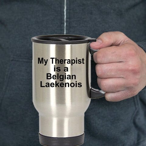 Belgian Laekenois Dog Lover Owner Funny Gift Therapist Stainless Steel Insulated Travel Coffee Mug Tea Cup