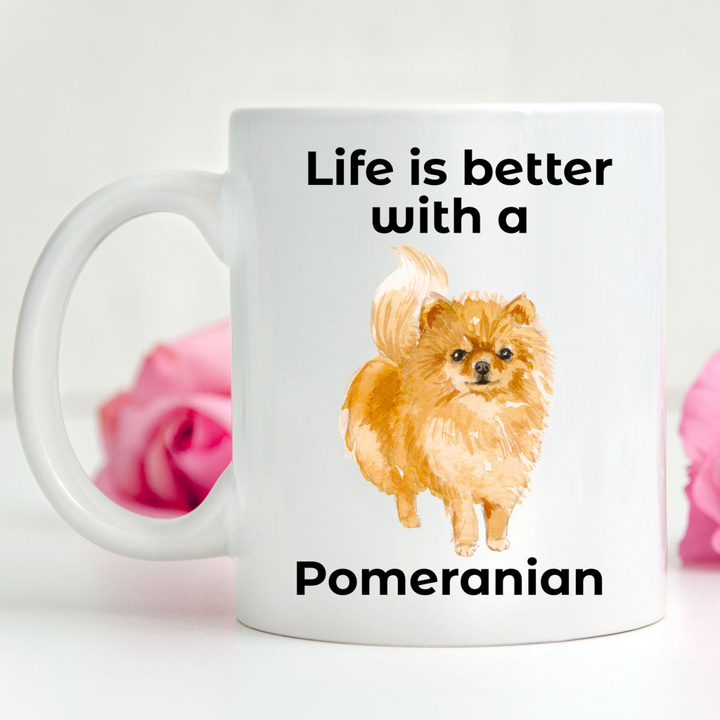Pomeranian Life is Better Coffee Mug