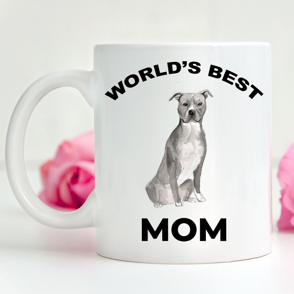 American Staffordshire Terrier Best Dog Mom Coffee Mug