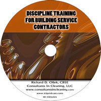 DISCIPLINE TRAINING FOR BUILDING SERVICE CONTRACTORS -DVD