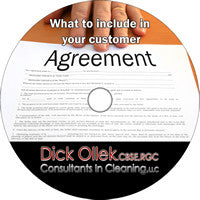 KEY POINTS TO INCLUDE IN YOUR CUSTOMER AGREEMENT
