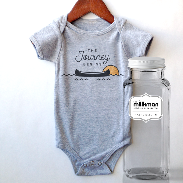 Journey Onesie in Milk Bottle