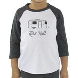 Let's Roll Raglan Toddler Tee