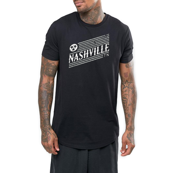 Nashville Adult Tee (Long Body Crew)