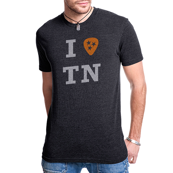 "Unisex - I ""Pick"" TN Adult Tee (Charcoal)"