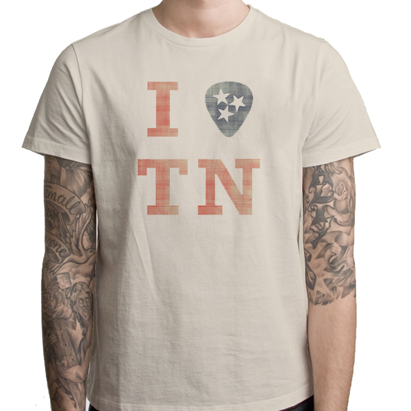 "Unisex - I ""Pick"" TN Adult Tee"