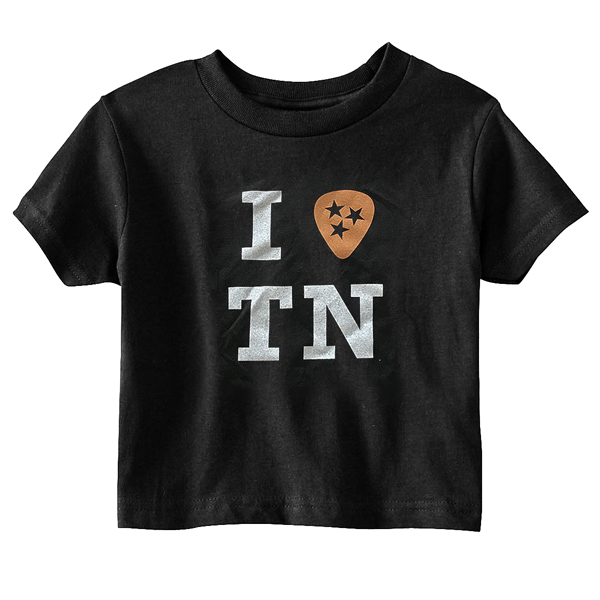 "I ""Pick"" TN Toddler Tee (Black)"