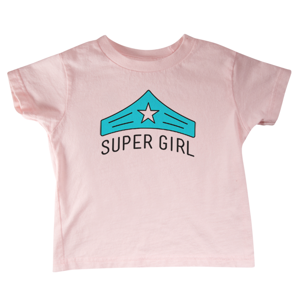 Super Girl Toddler Tee