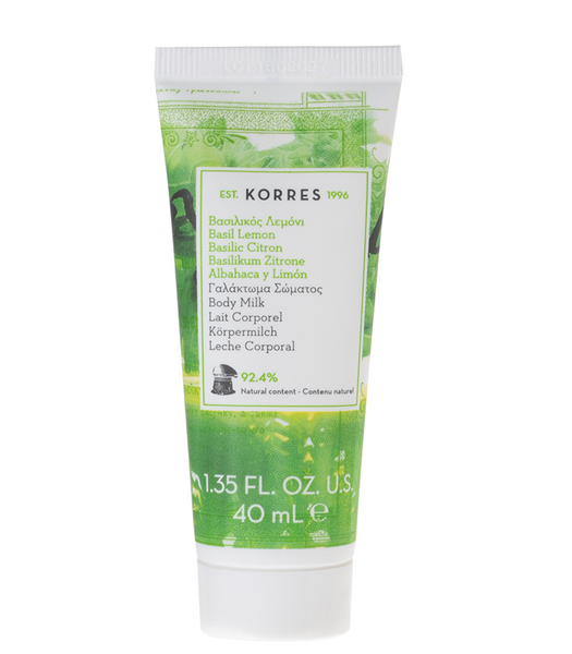 Korres - Basil Lemon Body Milk