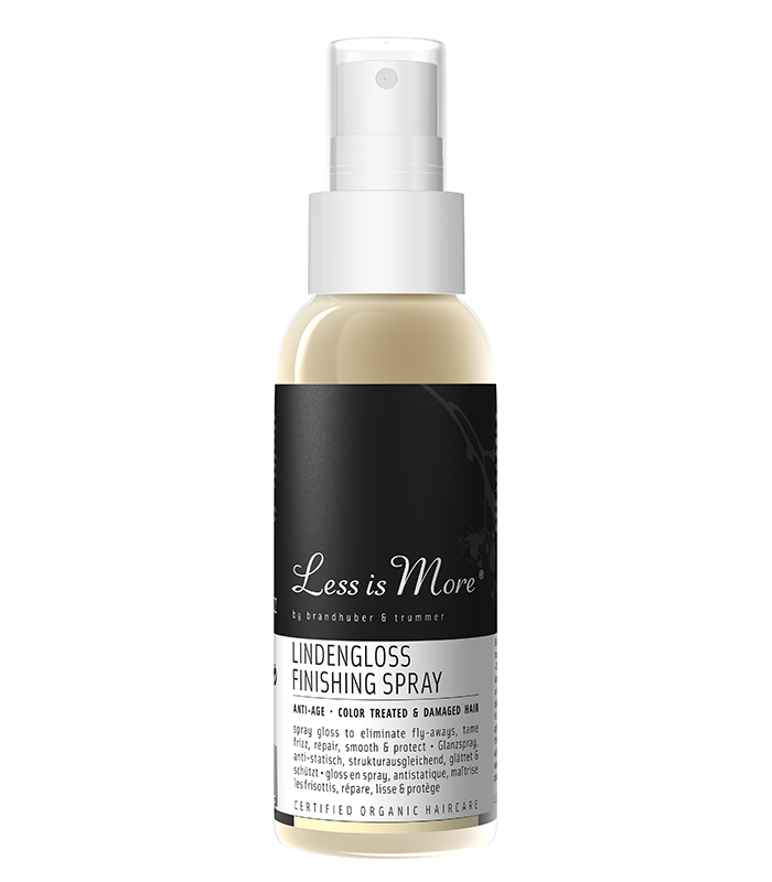 Less is More - Lindengloss Finishing Spray