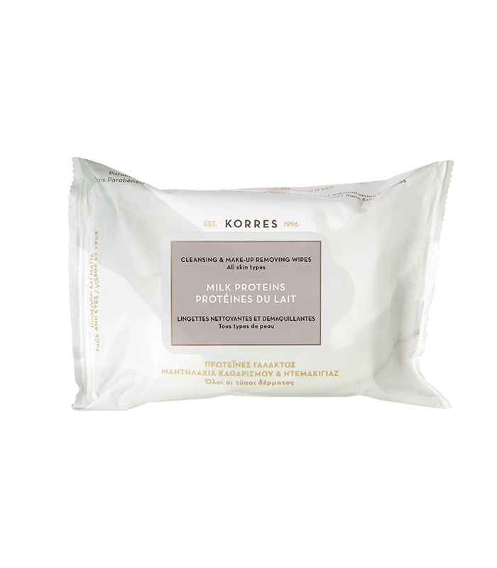 Korres - Milk Proteins Cleansing Wipes