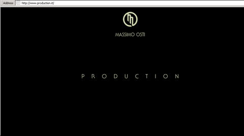 Production website by Massimo Osti