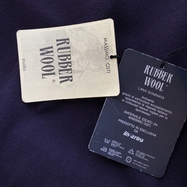 rubber wool by massimo osti
