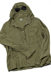 C.P. Company SS 2005 Garment Dyed Goggle Jacket - M/L (XL)