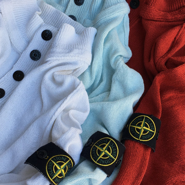 3 PACK: Stone Island SS Half Button Sweater (XL/XXL)