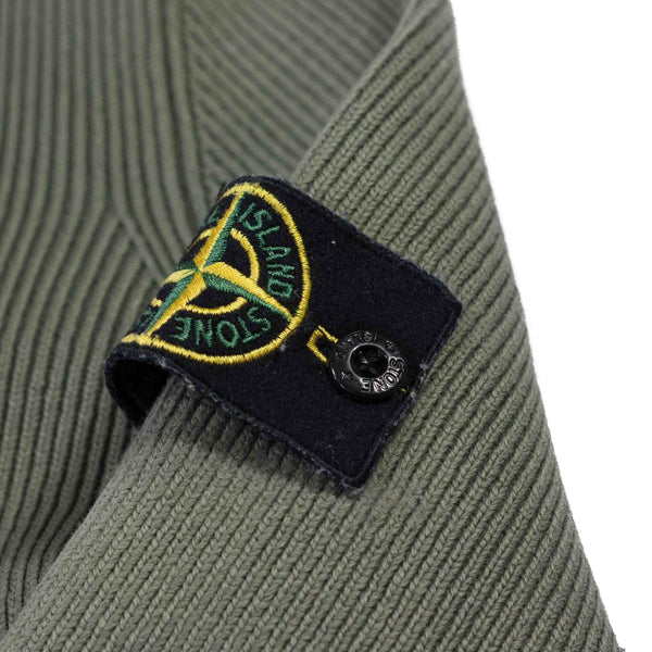Stone Island AW 2006 Full Zip Rib Knit badge