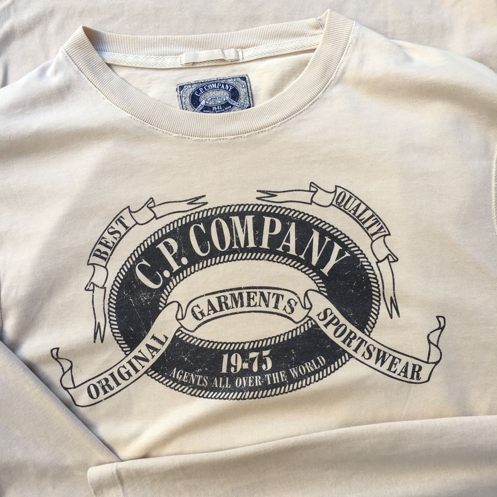 C.P. Company Long Sleeve Crew T-Shirt