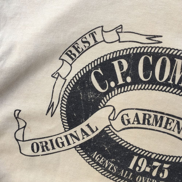 C.P. Company Long Sleeve Crew T-Shirt (S/M)