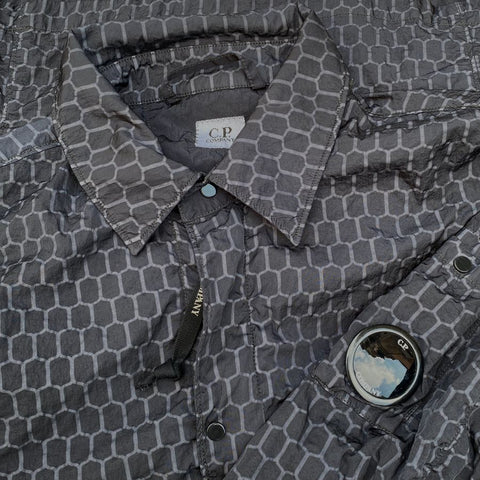 cp company air-net overshirt