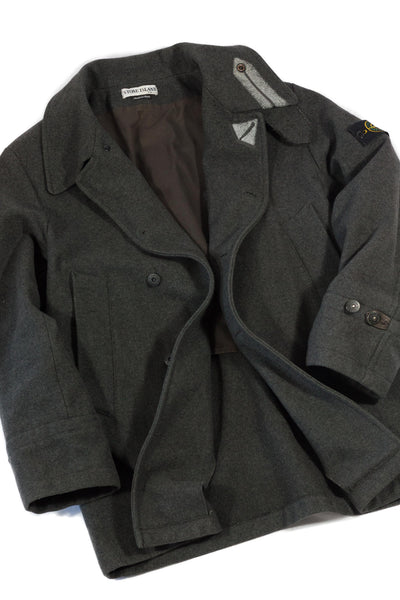 Stone Island AW 2001 Pea Coat - Paul Harvey design