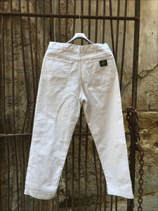 vintage stone island compass patch jeans massimo osti