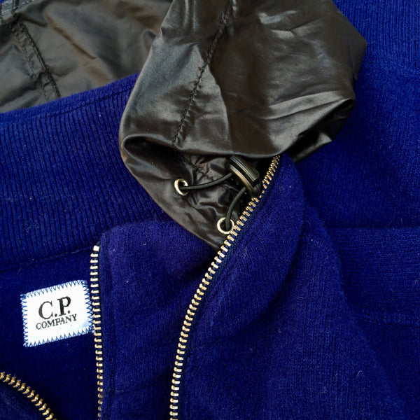 C.P. Company AW 2015 Hooded Lens Knit - M/L
