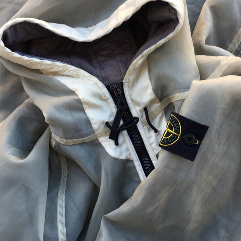 Stone Island AW 2003 Monofilament Hooded Jacket by Paul Harvey