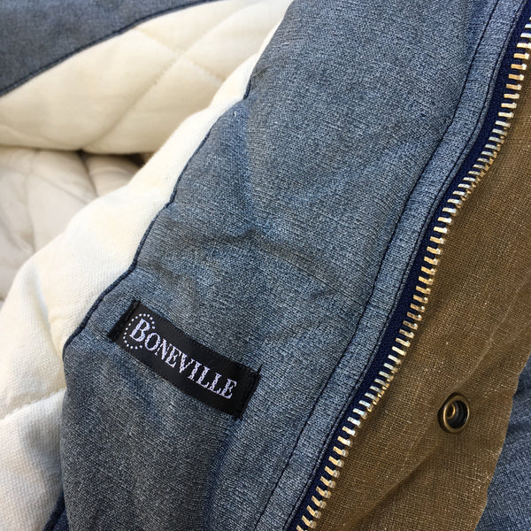 Boneville Navy Arctic Late 1980s Technical Parka - XL