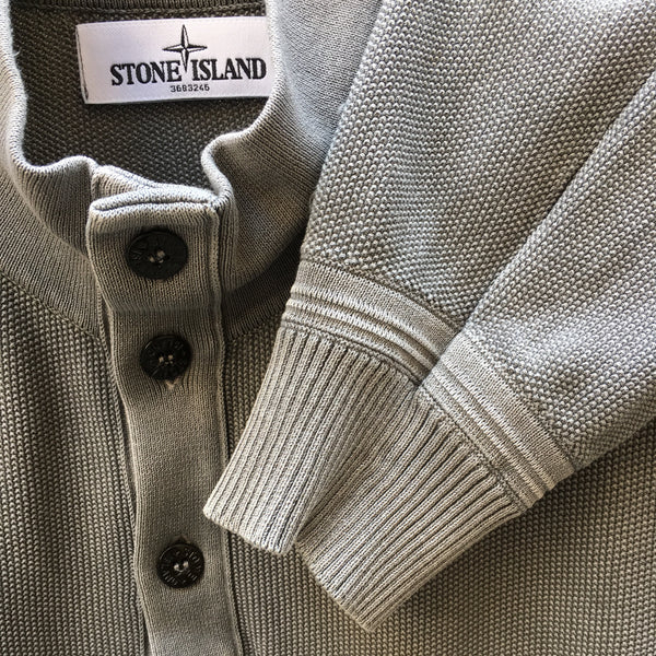 Stone Island SS 2013 Half Button Sweater - XL