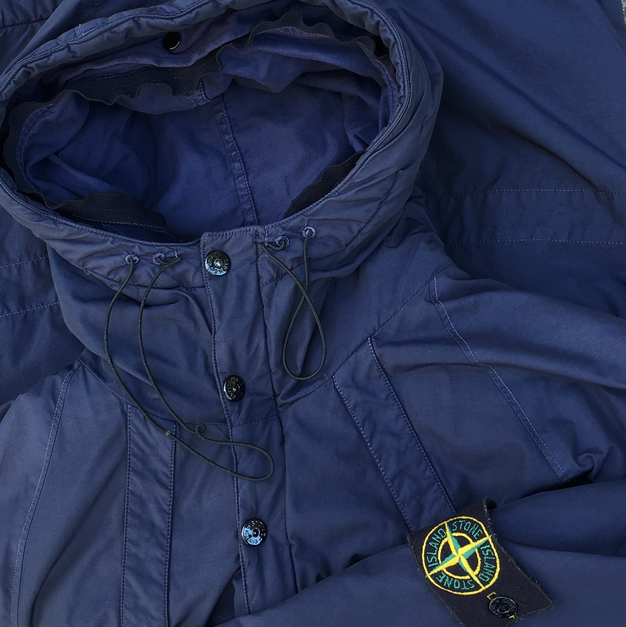 Stone Island AW 2004 Double Hooded Jacket by Paul Harvey