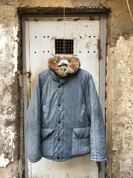 vintage Boneville Navy Arctic Late 80s Technical Parka by massimo osti