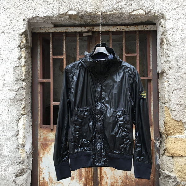 Stone Island SS 2013 Glass Hooded Bomber Jacket
