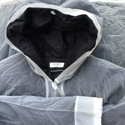 Stone Island Serie 100 AW 2001 Monofilament Hooded Jacket - 42/M
