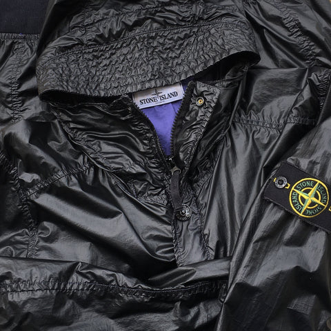 Stone Island SS 2013 Glass Hooded Bomber Jacket - S/M