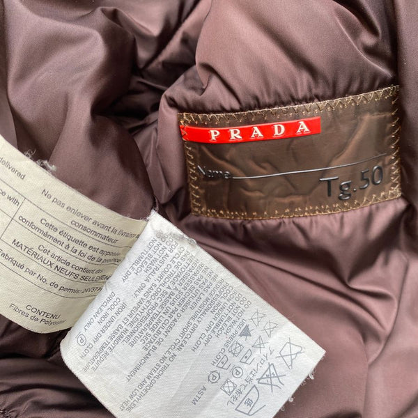 Prada Shearling Flight Jacket (M/L)