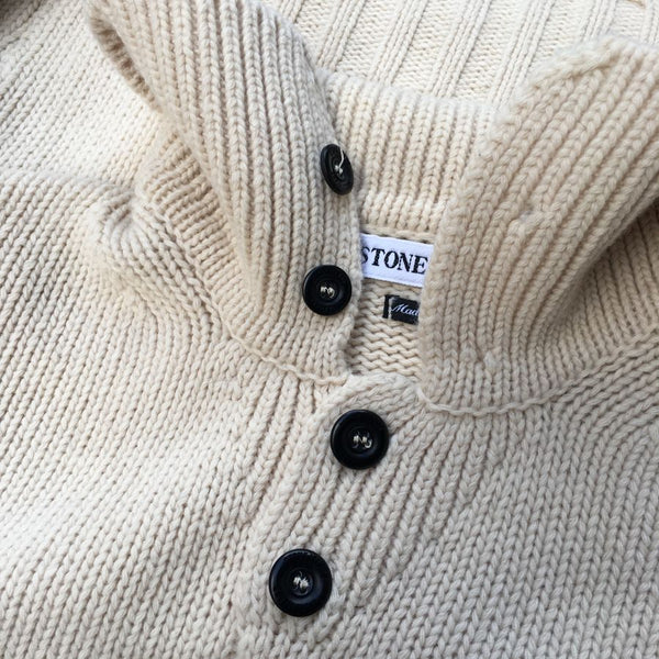 Stone Island AW 1998 Knit Polo Sweater (XL/XXL)