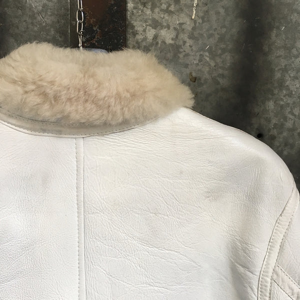 Stone Island AW 2006 Hand Painted Sheepskin Jacket (M/L)
